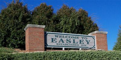 Easley Sign